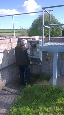 Streaming Current Analyzer installed in Cork County, Ireland.